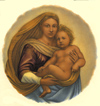 Biblical  Mary with Child