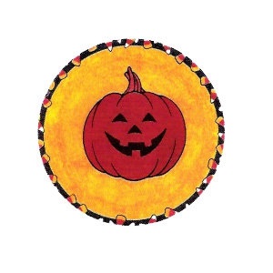Halloween Jack O' Lantern - Low temp/cold
