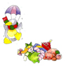 Winter Assorted Bits-Toys, Penquin