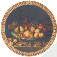 Fruit Bowl - Pears, Grapes, Nuts