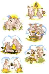 Animals Pigs
