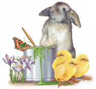 Easter - Bunny and Chicks