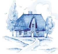 Blue Delft Cottage