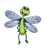 WHIMSICAL DRAGON FLY BIT