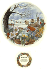 The Seasons - Winter Scene