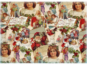 Overall Design - Christmas Chintz
