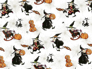 Hubble Bubble Overall Chintz  Halloween