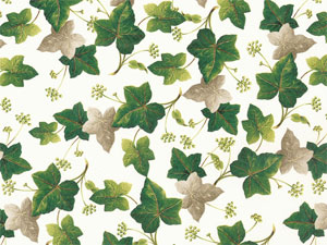 Ivy Maple Flowers Overall Chintz